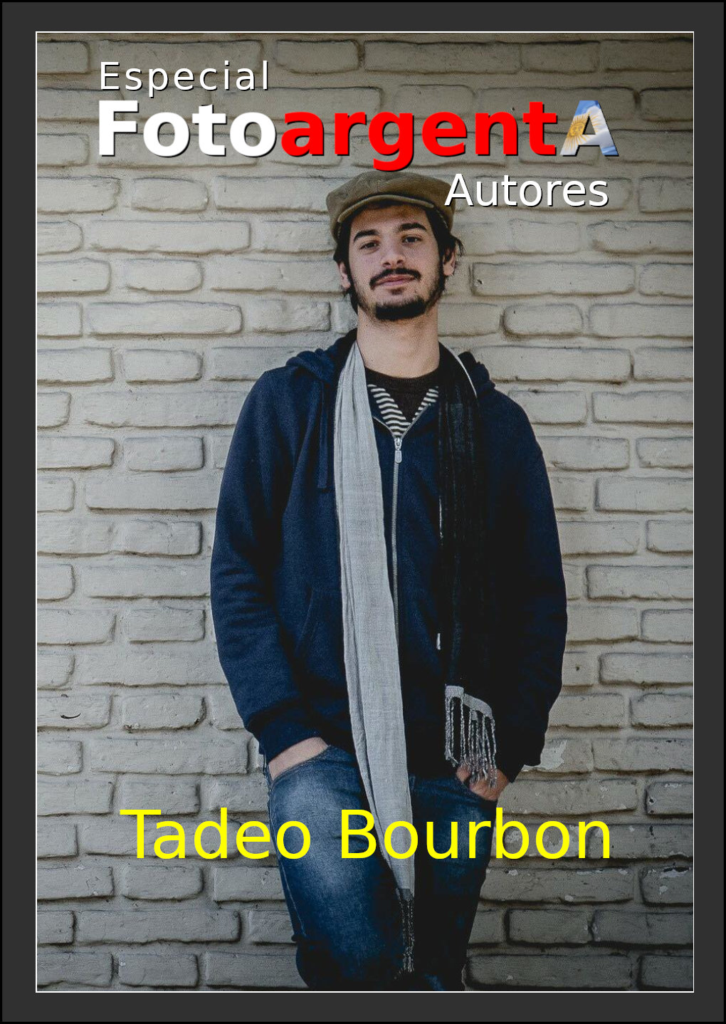 Tapa Revista de Tadeo Bourbon
