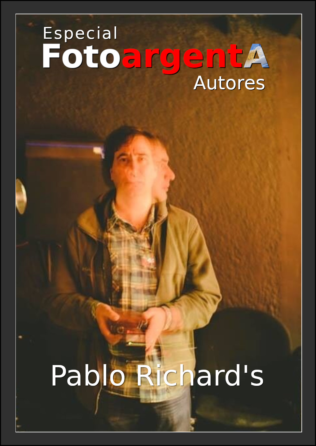 Tapa Revista de Pablo Richards