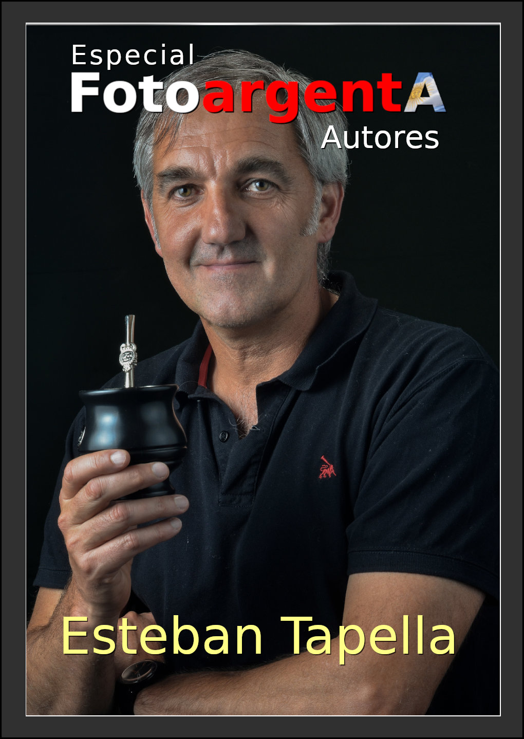 Tapa Revista de Esteban Tapella